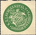 Siegelmarke Königlich Sächsische Landesanstalt Grossschweidnitz W0211190.jpg
