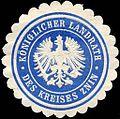 Siegelmarke Königlicher Landrath des Kreises Znin W0221167.jpg