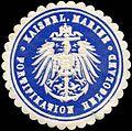 Siegelmarke Kaiserliche Marine - Fortifikation Helgoland W0224493.jpg
