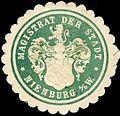 Siegelmarke Magistrat der Stadt - Nienburg W0221323.jpg