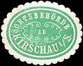 Siegelmarke Ortsbehörde zu Kirschau-Sachsen W0314414.jpg