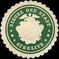 Siegelmarke Siegel der Stadt - Strelitz W0215296.jpg