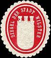 Siegelmarke Siegel der Stadt Wilster W0226513.jpg