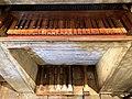 Siena, chiesa di San Vigilio - Organo maggiore, tastiera e pedaliera.jpg
