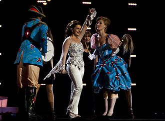Netherlands in the Eurovision Song Contest - Image: Sieneke op het Eurovisiesongfestiva l 2010