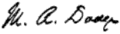 Signature of Mary Abigail Dodge.png