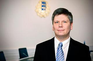 Siim Valmar Kiisler Estonian politician