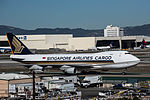 Singapore Airlines Cargo Boeing 747F at LAX (22747768340).jpg