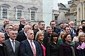 Sinn Féin MPs, MLAs & TDs gather ahead of the Dáil100 event (45922965715).jpg