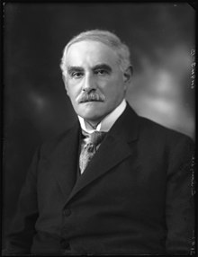 Sir Sidney in 1924