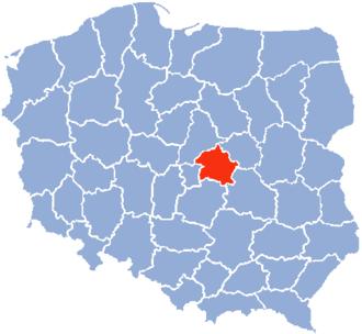 Skierniewice Voivodeship - Skierniewice Voivodeship