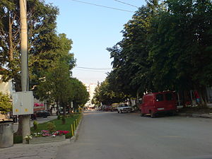 Slivnitsa main street.JPG