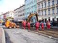 Smíchovské nádraží, rekonstrukce TT u smyčky.jpg