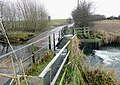 Smestow Brook flowing over Trescott Ford, Staffordshire - geograph.org.uk - 1134583.jpg