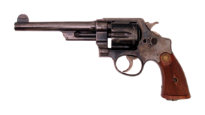 Smith and Wesson .44 Hand Ejector 1st Model New Century Triple Lock Canadian Contract .455 Webley-transparent.png
