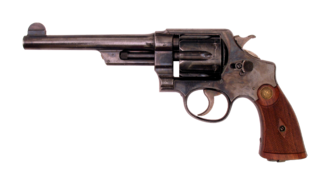 """Smith & Wesson Triple Lock - Smith & Wesson .44 Hand Ejector 1st Model 'New Century' """"Triple Lock"""""""