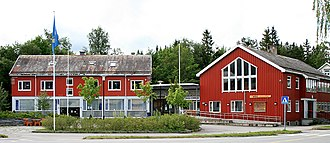 Snåsa (village) - The town hall