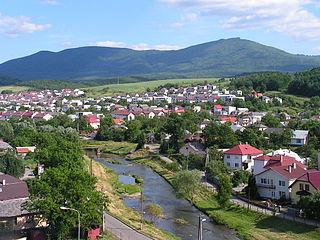 Snina Town in Slovakia