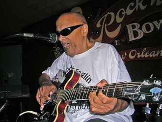 1936 in jazz - Snooks Eaglin at Rock N' Bowl, New Orleans, LA, 2006
