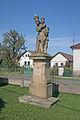Socha P. Marie (Třesovice), parčík u pomníku padlých, Třesovice.JPG