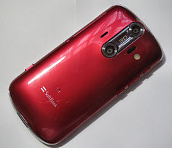 SoftBank AQUOS PHONE 006SH Progress Red 002.JPG