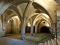 Soissons (02), abbaye Saint-Jean-des-Vignes, cellier, vue diagonale vers le sud-est.jpg