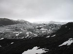 Solheimajökull, an outlet glacier from Mýrdalsjökull