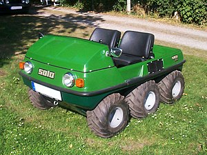 Amphibious ATV - Image: Solo 750