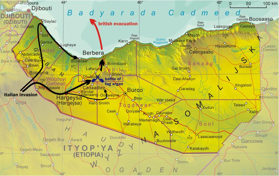 Somaliland Italian invasion