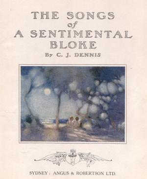The Songs of a Sentimental Bloke - Image: Songs of a Sentimental Bloke 1916 cover