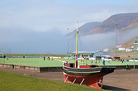 Sorvagur, faroe islands, football field.jpg