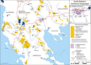 Aromanians in the Republic of Macedonia - Distribution of Aromanians across Macedonia