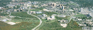 South Texas Medical Center - Aerial of the South Texas Medical Center in northwest San Antonio.