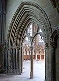 Southwell Minster Carvings Chapter House Portal 02.jpg