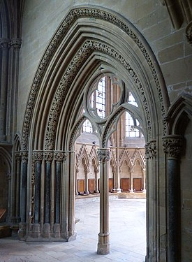 Southwell Minster Carvings Chapter House Portal 02.jpg