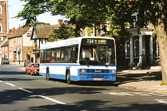 London Country North East - Image: Sovereign Bus & Coach 204 G204URO