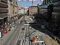 Spårvägsbygge på Hamngatan.jpg