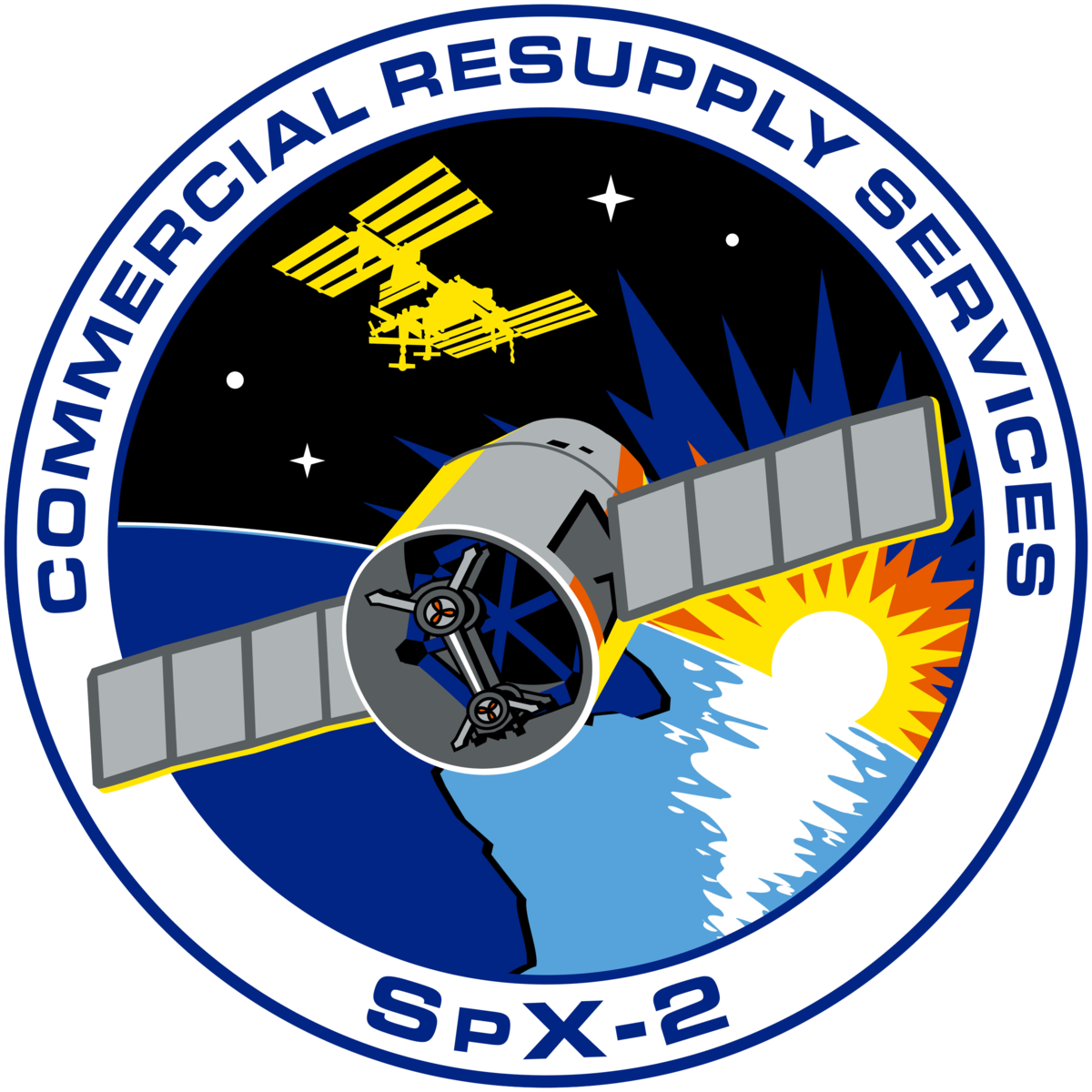 spacex crs 4 logo - photo #9