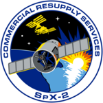 SpaceX CRS-2 Patch.png