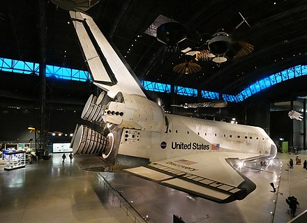 Space Shuttle Discovery at the Steven F. Udvar-Hazy Center Space Shuttle Discovery at Udvar-Hazy Center.jpg