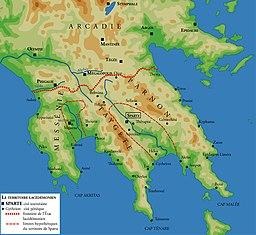 Teritorio de la antikva Sparto