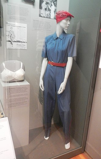 Sperry Corporation - Coverall for female war workers