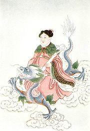 Kinesisk brunns-ande.