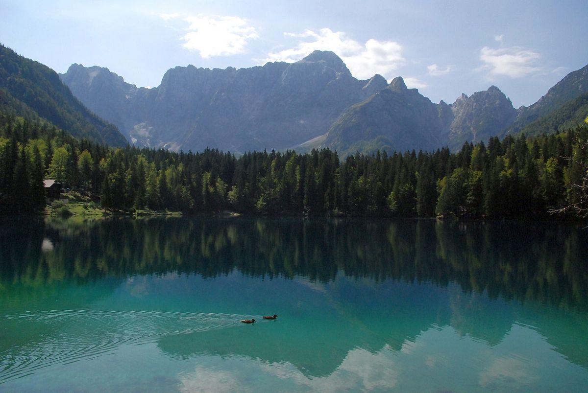 Laghi di fusine wikipedia for Disegni di laghi