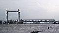 Spoorbrug in Dordrecht gezien vanaf Veerplein in Zwijndrecht II.jpg