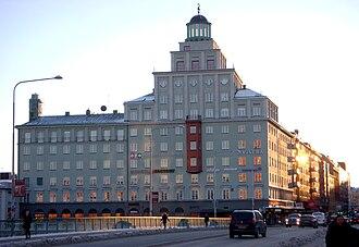 Polar Studios - The cinema building as seen from the S:t Eriksbron, 2010.