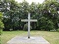Spremberg Deutsche Kriegsgräberstätte auf dem Georgenberg Gedenkkreuz.JPG