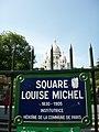 Square Louise-Michel, Paris 2006.jpg