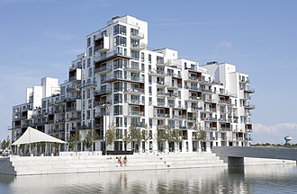 Vilhelm Lauritzen Architects - Image: Stævnen, Ørestad