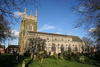 William Willoughby, 5th Baron Willoughby de Eresby - Church of St. James, Spilsby, Lincolnshire, burial place of William Willoughby, 5th Baron